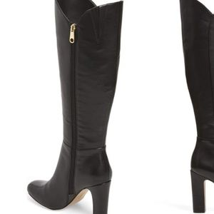 LOUISE ET CIE curved top boots